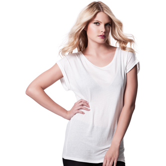 Continental N20 Women's Rolled Sleeve Tunic T-shirt