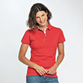 Lemon & Soda 3560 Polo Contrast Cotton Lasthan SS for her