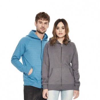 Continental SA41Z Men's Unisex Zip-Up Hoody