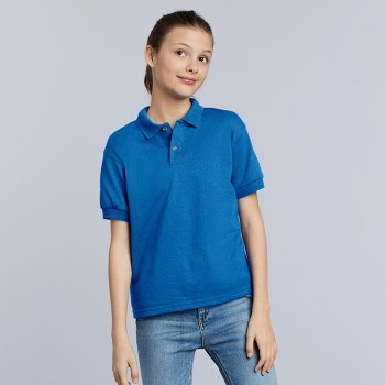 Gildan GIL8800B Polo DryBlend Jersey SS for kids