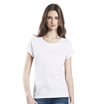 Continental EP12 Women's Rolled-up Sleeve T-shirt