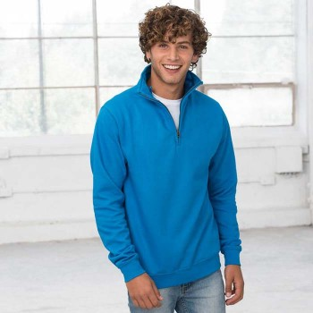 AWDis JH046 Sophomore 1/4 Zip Sweat