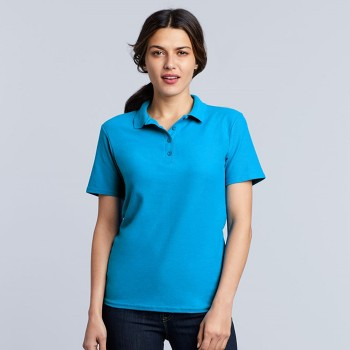 Gildan GIL64800L Polo Softstyle Double Pique SS for her