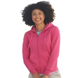 Fruit of the Loom Lady-Fit Hooded Sweat Premium Jacket