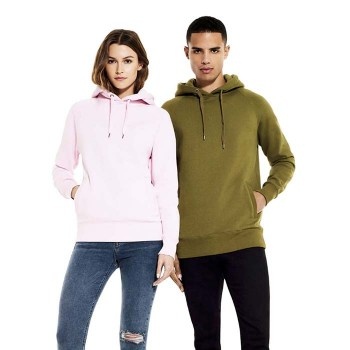 Continental N50P Unisex Pullover Hoody With Side Pockets