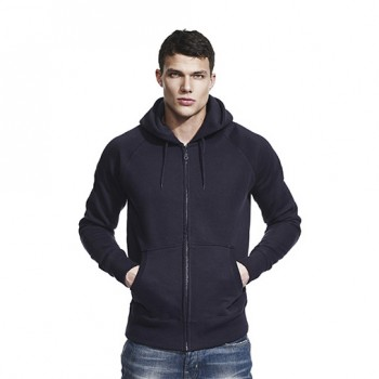 Continental N51Z Men's Raglan Zip-Up Hoody