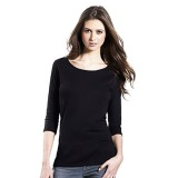 Continental EP07 Women's Organic 3/4 Sleeve Stretch T-shirt